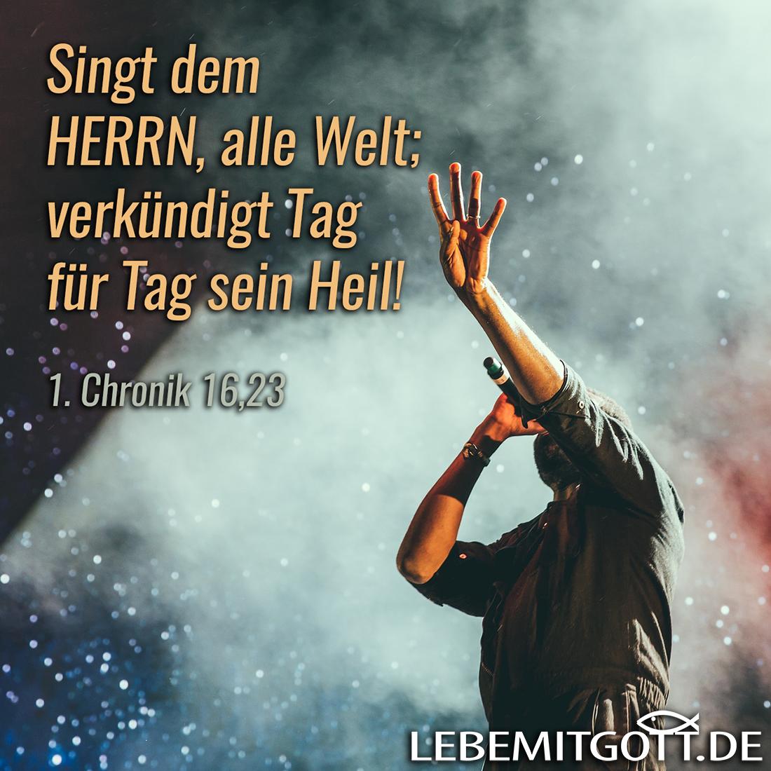 Singt dem Herrn!