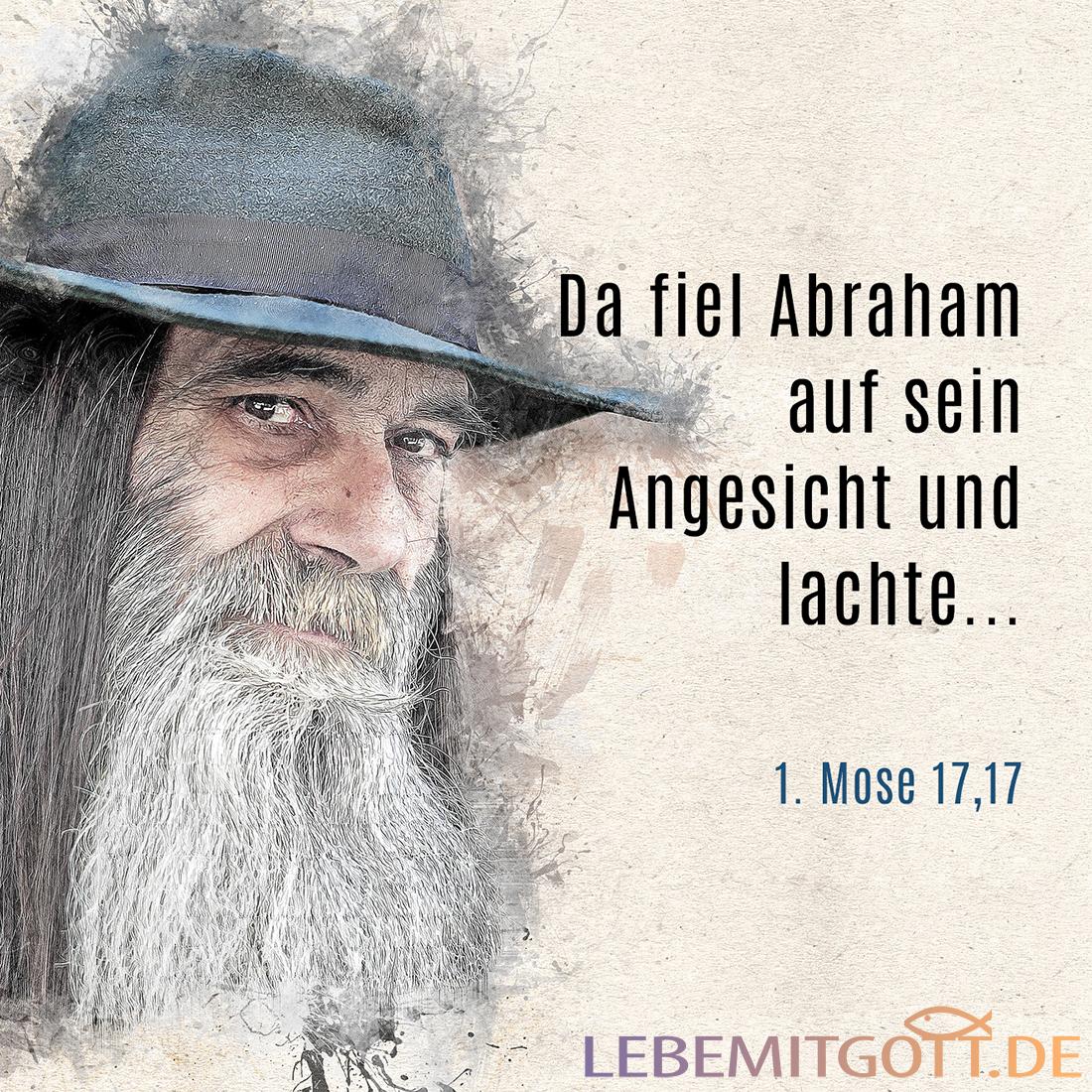 Abraham lachte